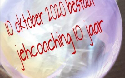 10 jarige coaching journey van Jeanine Hamaker